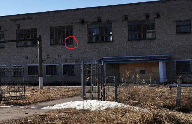 Lugar supuesto de la transmisión en Povarovo