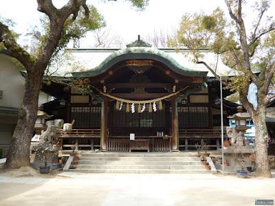 福島天満宮拝殿