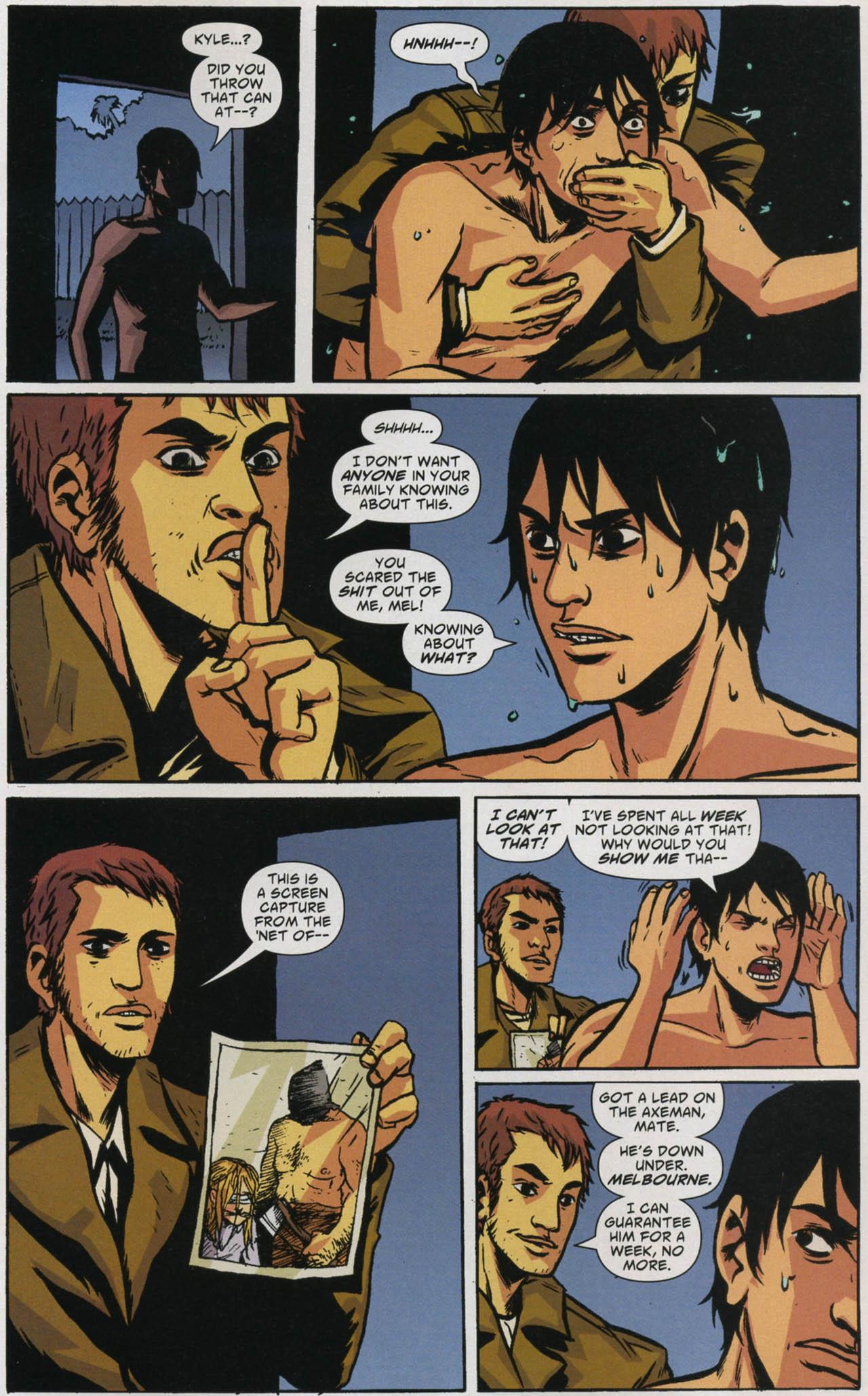 Read online American Virgin comic -  Issue #5 - 21