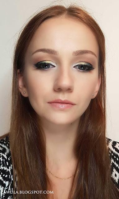 Makijaż kolorowy ,makijaż pigmenty , cienie sypkie , pigmenty , pigmenty my seccienie my secret