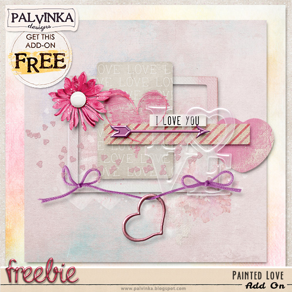 "Collection ""Painted Love Collection"" and Freebie"