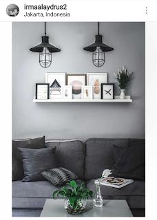 frame atau bingkai bisa jadi pilihan untuk hiasan interior