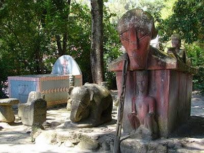 Pemakaman tradisional Masyarakat Danau Toba