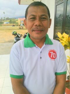 Kepala Sekolah SMK 1 Kotabunan, Ismail Janu