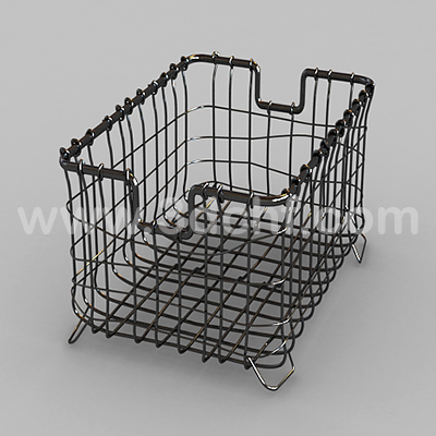 iron basket free 3d model