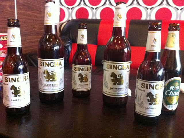 Shinga y Chang, dos cervezas made in Thailand
