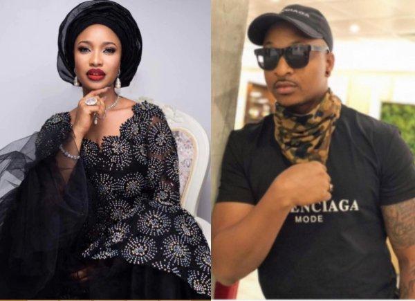 Tonto Dikeh Says IK Ogbonna's Bum Is Leaking (Read Details)