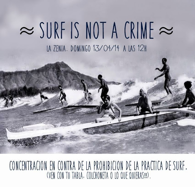 surf is not a crime