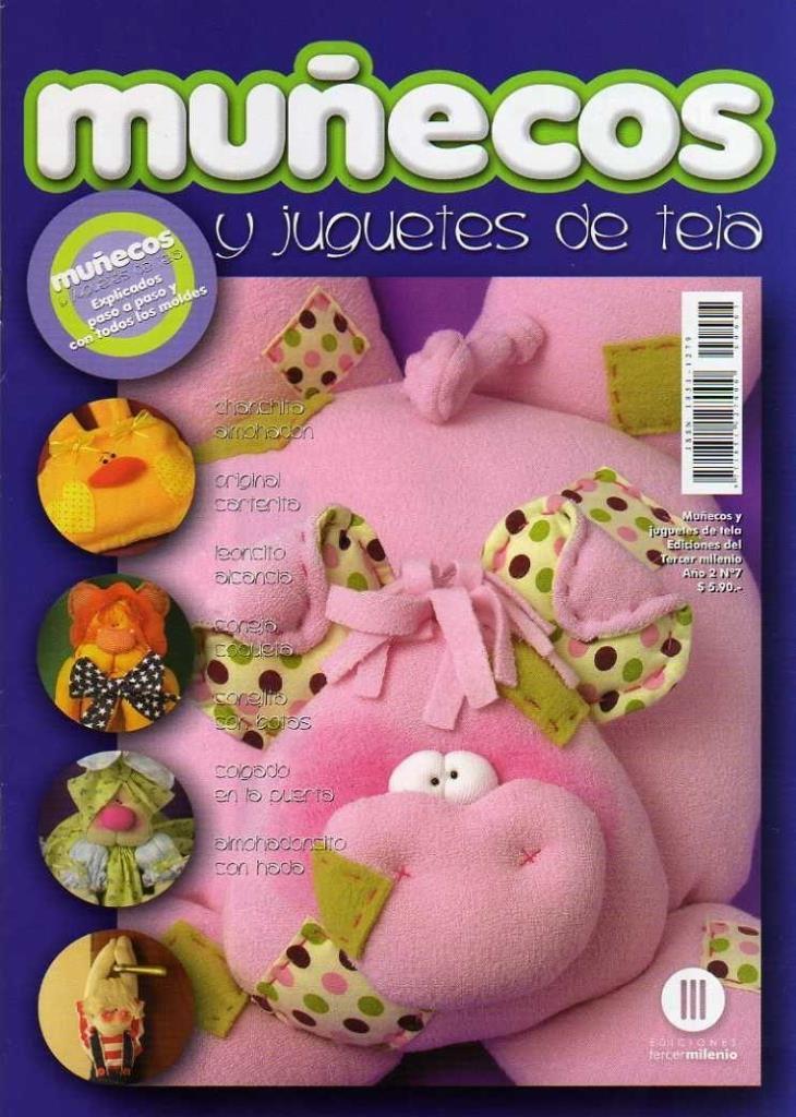 Muñecos y Juguetes de tela Nro. 7