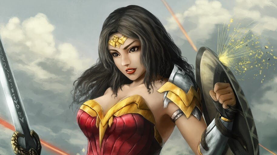 Wonder Woman, DC, Comics, 4K, #6.1189