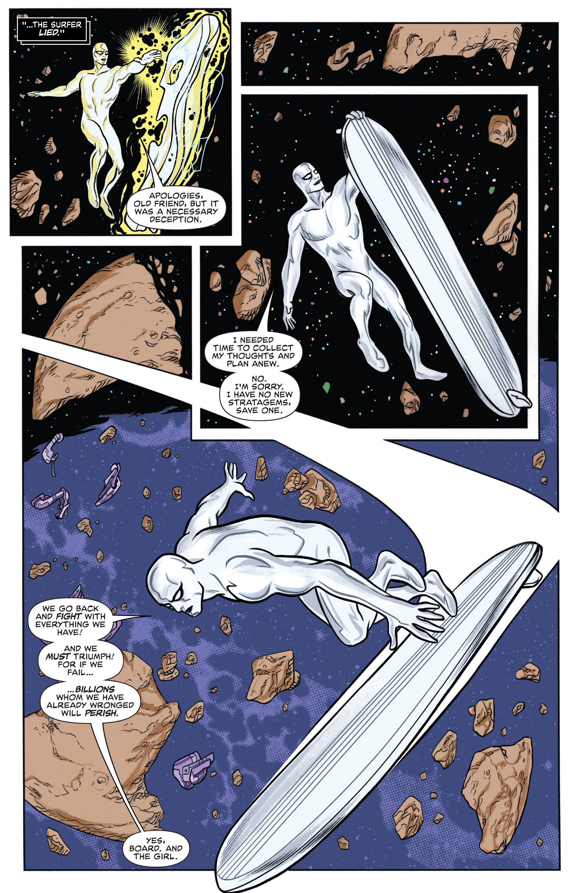 Read online Silver Surfer (2014) comic -  Issue #10 - 5