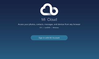 Cara Menggunakan Mi Cloud Xiaomi Semua Tipe