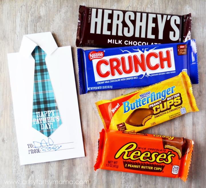 Father\u0027s Day Candy Bar Wrapper artsy-fartsy mama