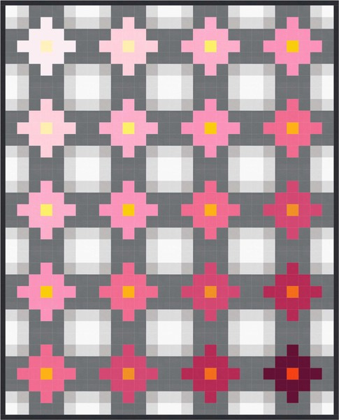 Free pattern! Ombre quilt