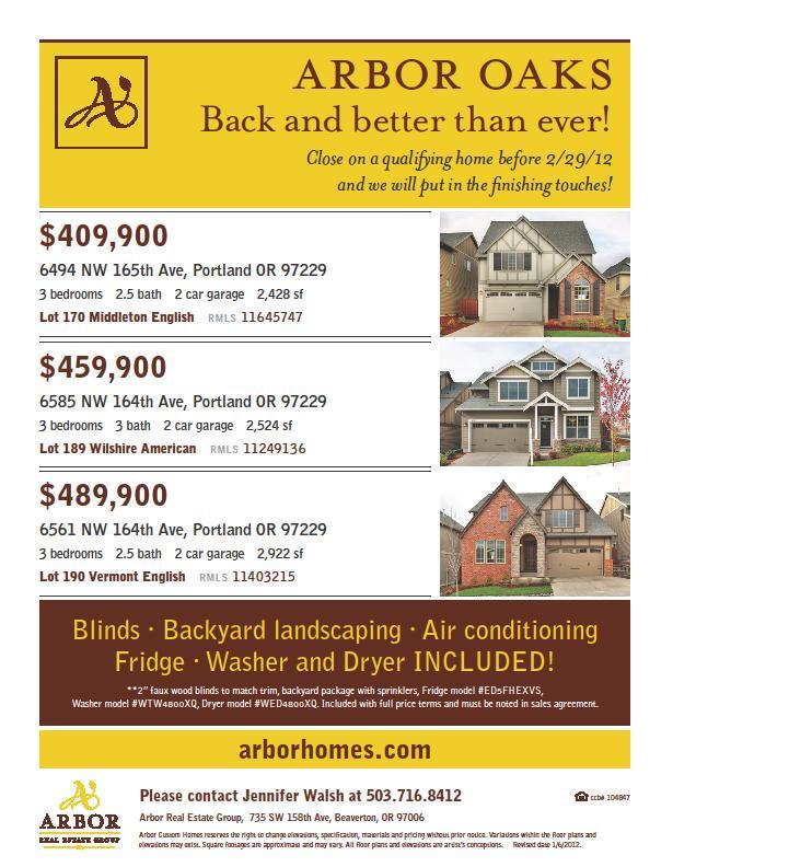 Arbor Oaks 77088: Arbor Oaks By Arbor Custom Homes