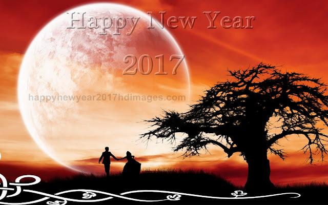 Happy New Year 2017 Love Wallpaper
