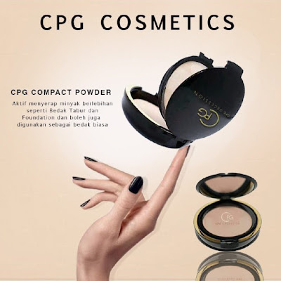 bedak cpg, bedak padat cpg, cpg cosmetics, perfect cover two way cake