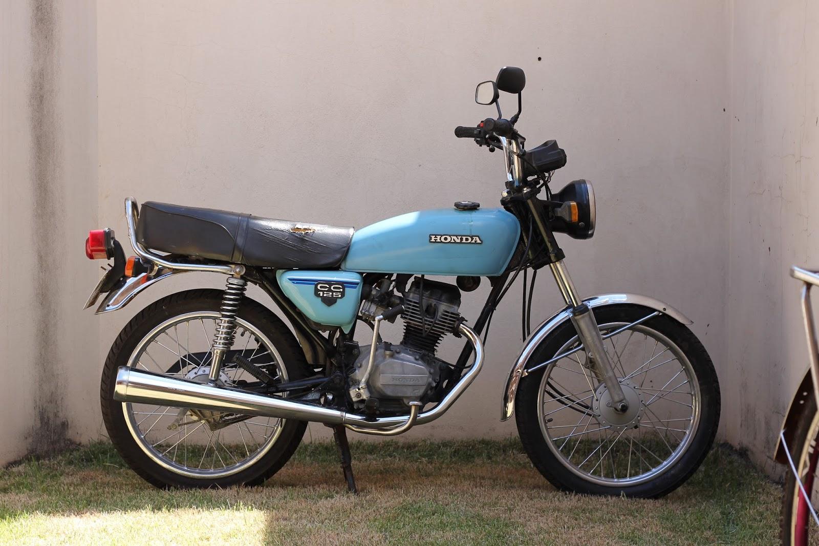 U Uau Uau >> Cafe Racer de fábrica com Honda CG 125 1980 - Fernando Casado | Garagem Cafe Racer