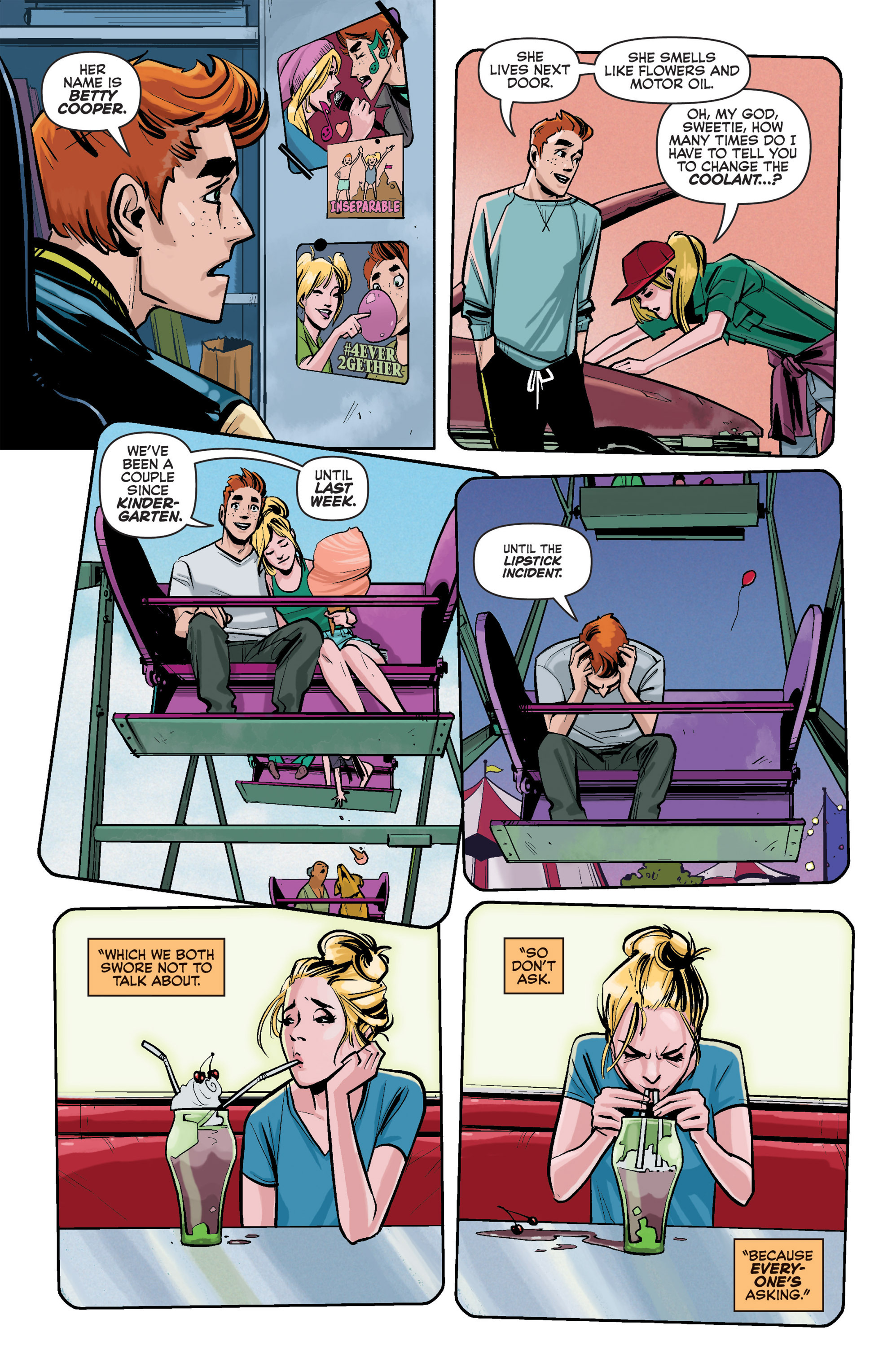 Read online Archie (2015) comic -  Issue #1 - 5