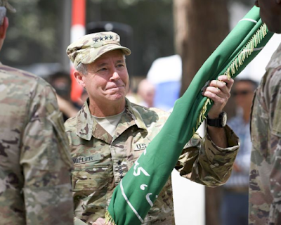 US military's top military commander in Afghanistan was attacked in southern Kandahar province on Thursday