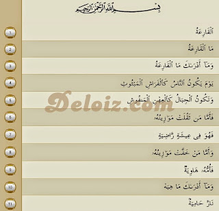 Surat Al-Qaari'ah