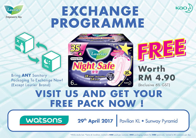FREE Kaolaurier Night Safe 35cm Pack Exchange Programme Caring Stores