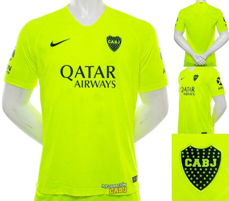 online retailer b7616 ca211 Boca Juniors 2018-19 Third Kit Leaked | Futbolgrid