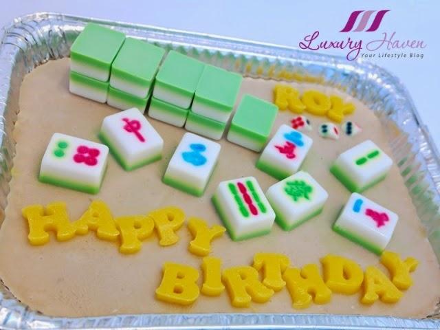Mahjong Agar Agar Cake For Potluck Party Anyone Game