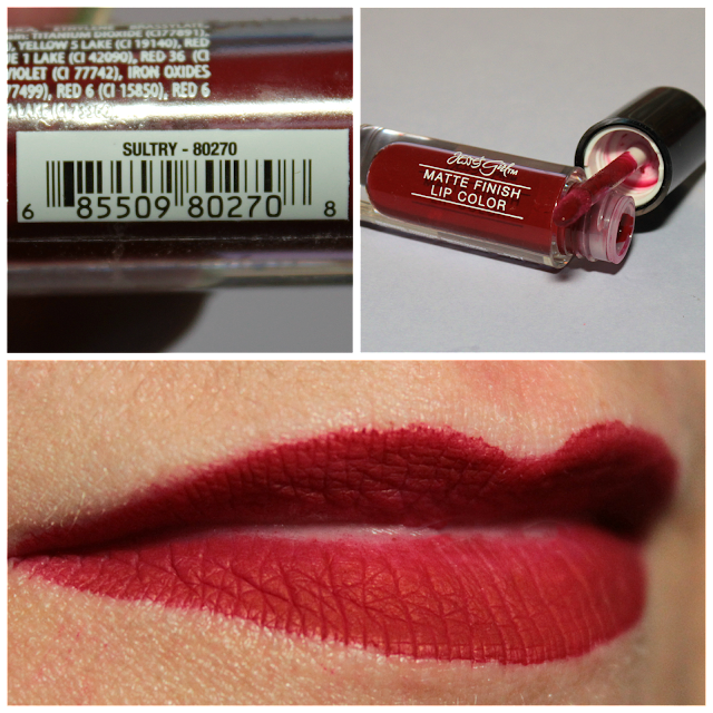 Jesse's Girl Matte Finish Lip Color - Sultry