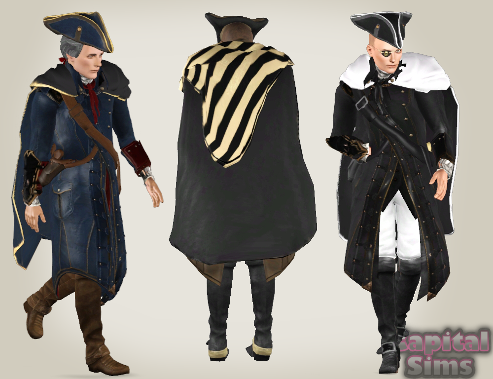 My Sims 3 Blog Ac3 Haytham Kenway Set By Anita