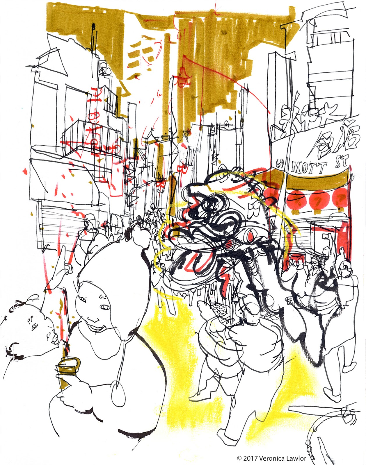 Busy Times for Urban Sketchers | Urban Sketchers