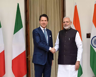 India-Italy Initiate Fast –Track Mechanism