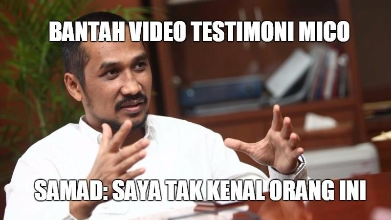 Abraham Samad mengaku tak mengenal Mico