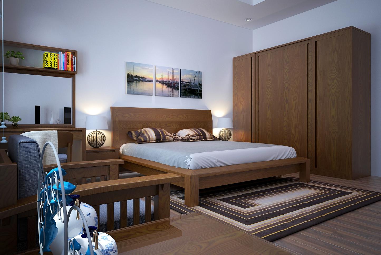 Thiết kế nội thất phòng ngủ theo phong thủy và theo tuổi