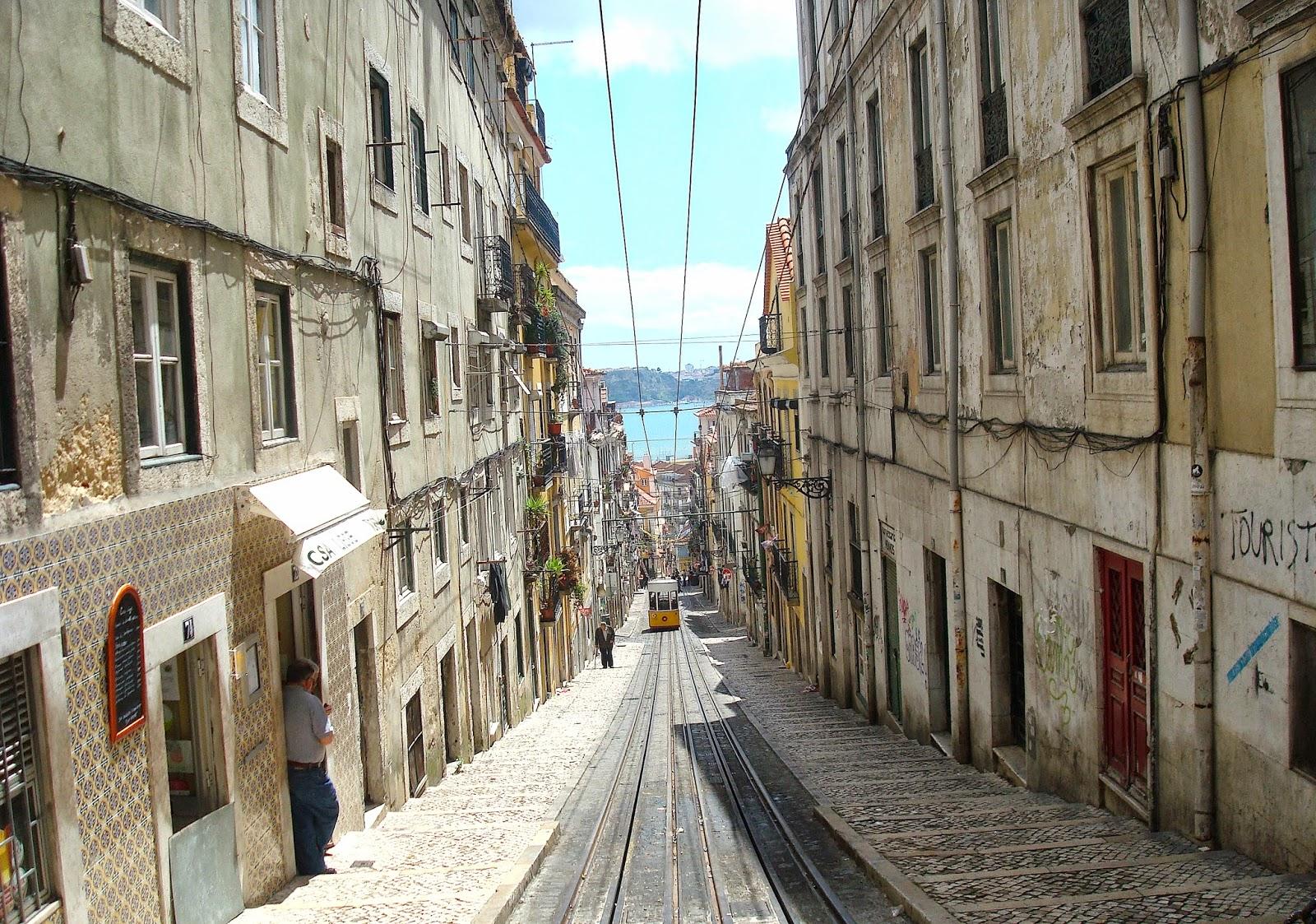 Bica Funicular Lisbon, Portugal