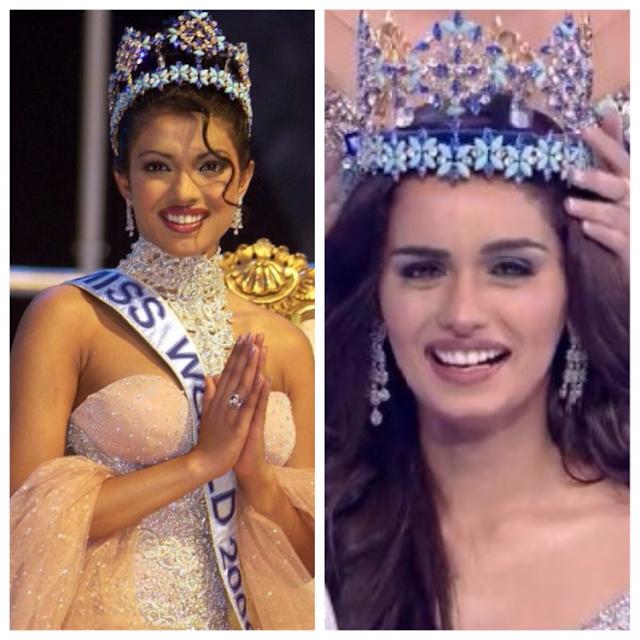 Photos: India's medical student Manushi Chhillar crowned Miss World 2017 after Priyanka Chopra