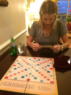Brian Boyle's Wife Bedford And Boyle Play Scrabble