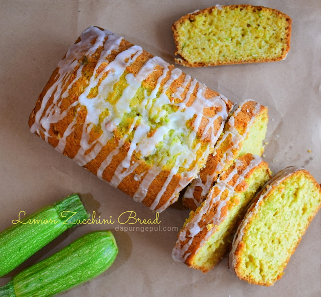 Lemon Zuchini Bread by dapurngepul.com