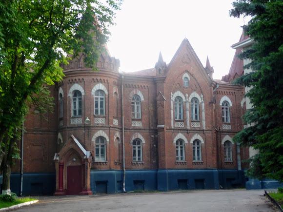 Суми. Вул. Троїцька. Олександрівська гімназія. 1873 р.