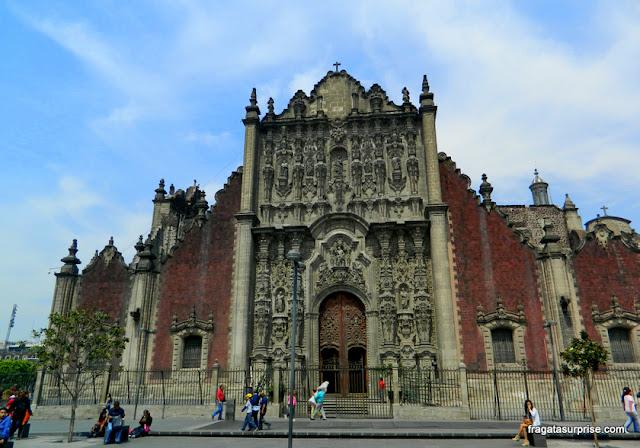Fachada do Tabernáculo da Catedral da Cidade do México