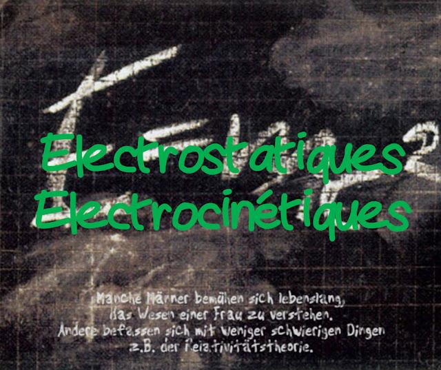Cours, Résumés et Exercices d'Electricité - Électrostatique et Électrocinétique