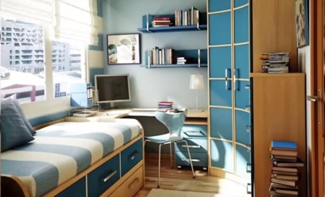 Rumah yang nyaman tidak bergantung pada ukurannya namun lebih kepada pemenuhan fungsinya Unique Mini House
