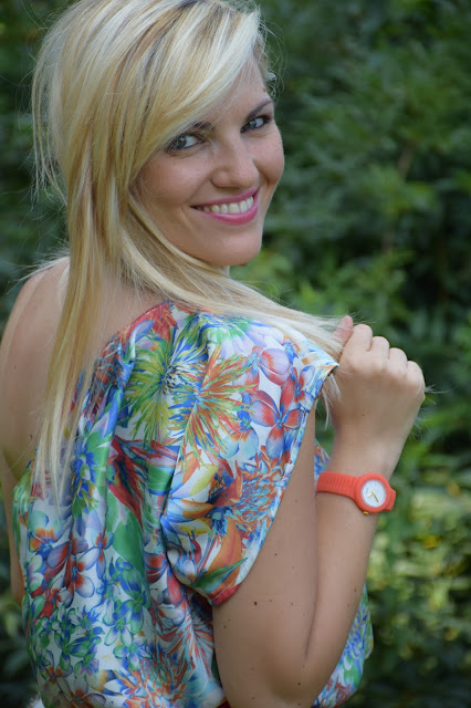 hip hop sensoriality arancione 50 watchesoffame hiphopizeyourlife mariafelicia magno fashion blogger color block by felym ragazze bionde occhi azzurri blondie blonde hair blonde girls