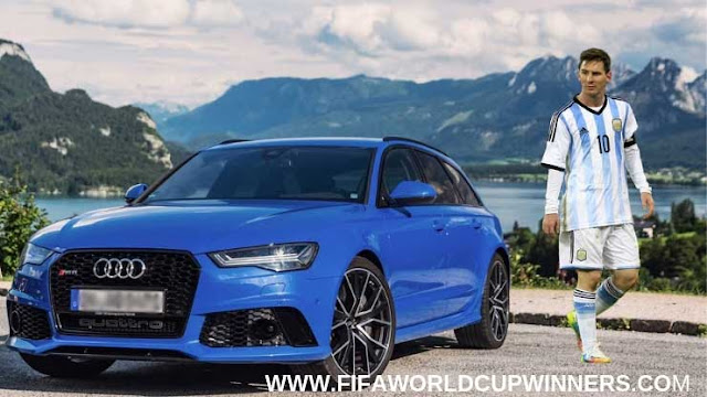 Messi+Car+Collection+Audi+RS6+Avant