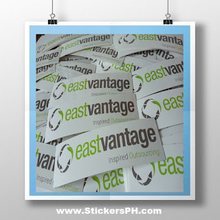 Promotional Logo Stickers - Eastvantage