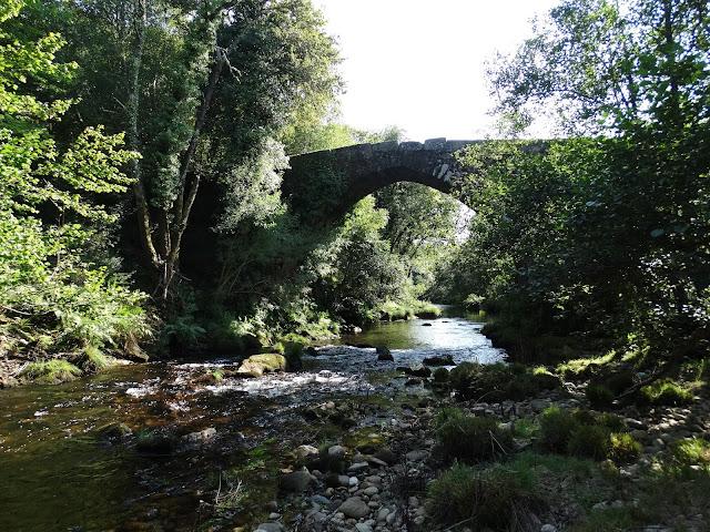 Puente romano de Pedre en Cerdedo
