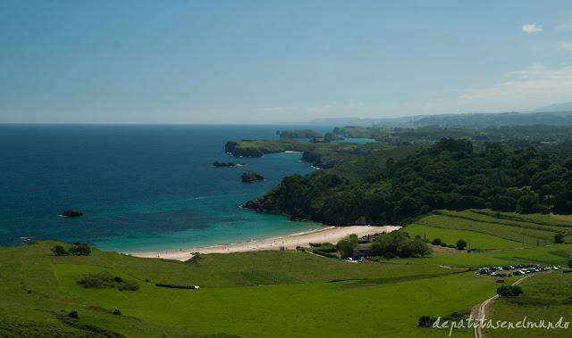Playa de Toranda en Asturias