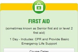 First Aid And Cpr Certificate Melbourne