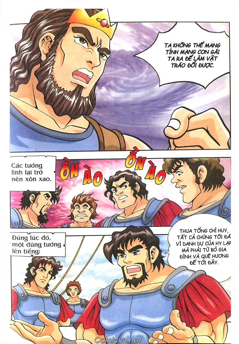 Thần Thoại Hy Lạp Màu - Chapter 53: Trước giờ xung trận - Pic 21