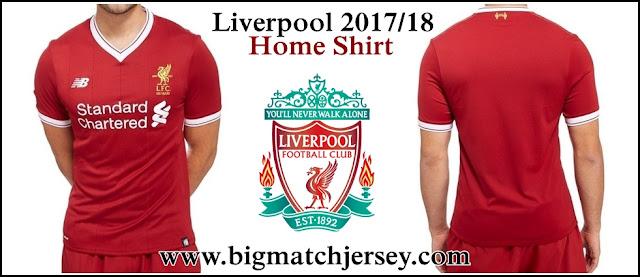 Kostum Terbaru Liverpool FC Musim 2017-2018